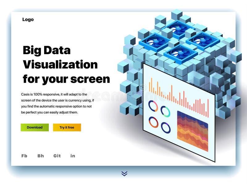 Ιστοχώρος που παρέχει την υπηρεσία της μεγάλης απεικόνισης στοιχείων για την οθόνη σας ελεύθερη απεικόνιση δικαιώματος