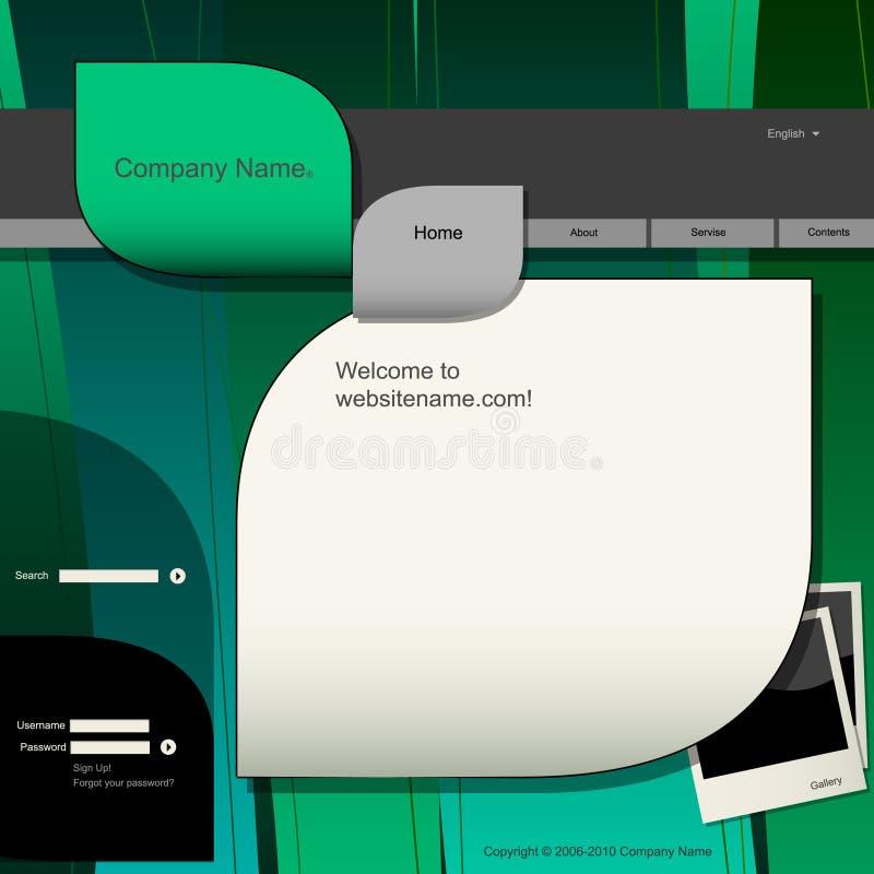 ιστοχώρος προτύπων σχεδί&omic απεικόνιση αποθεμάτων
