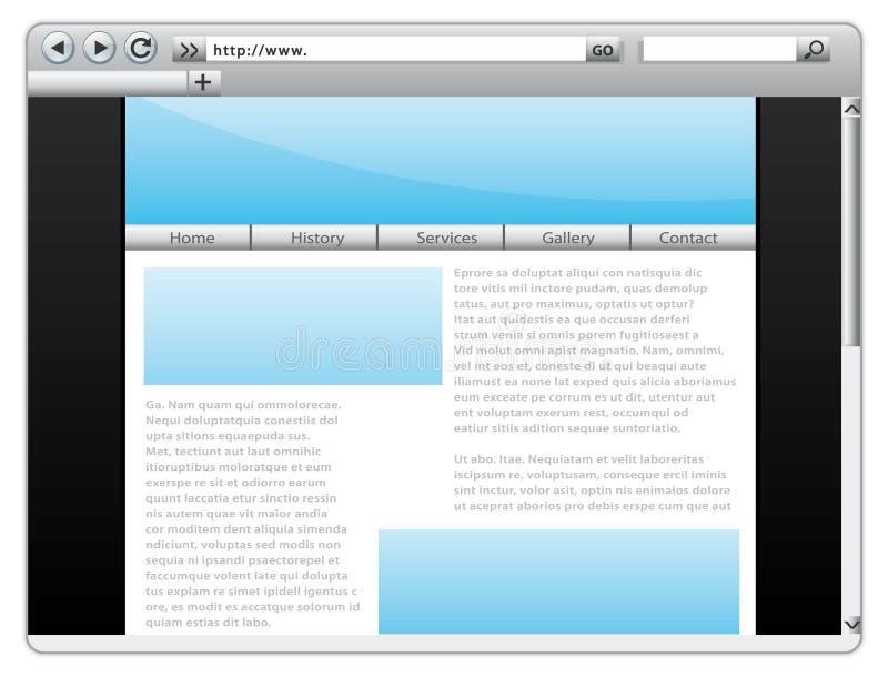 ιστοχώρος προτύπων διανυσματική απεικόνιση