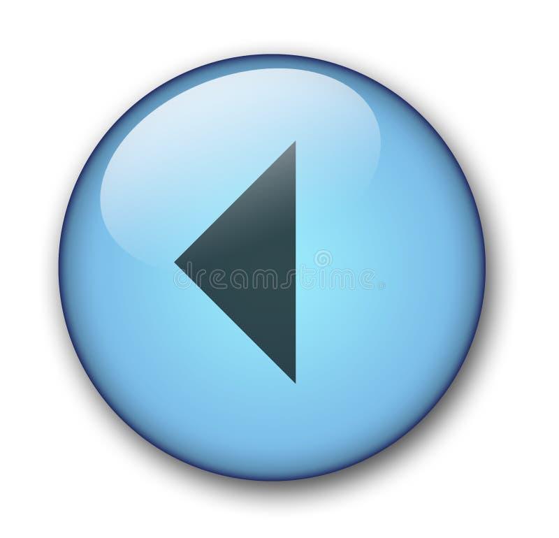 Ιστός κουμπιών aqua απεικόνιση αποθεμάτων