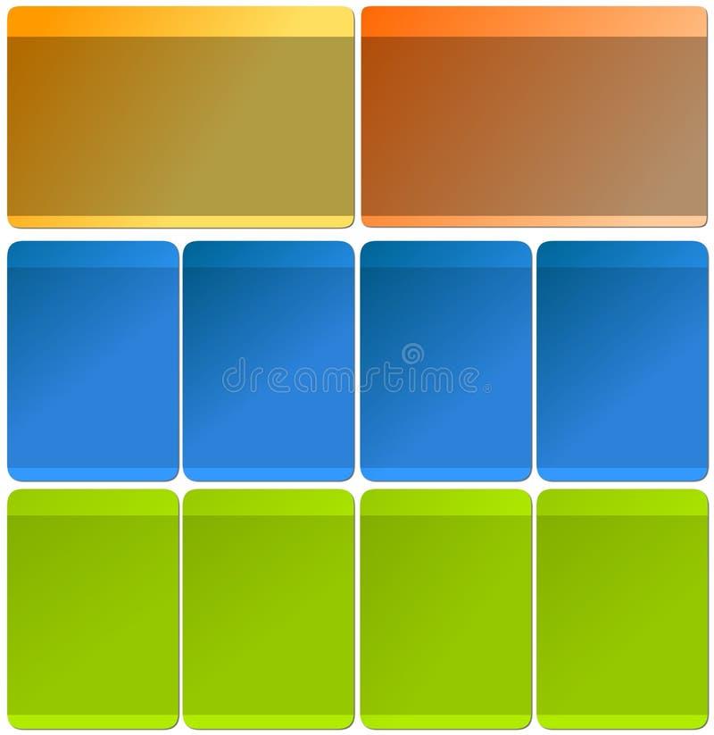 Ιστός προτύπων στοιχείων ελεύθερη απεικόνιση δικαιώματος