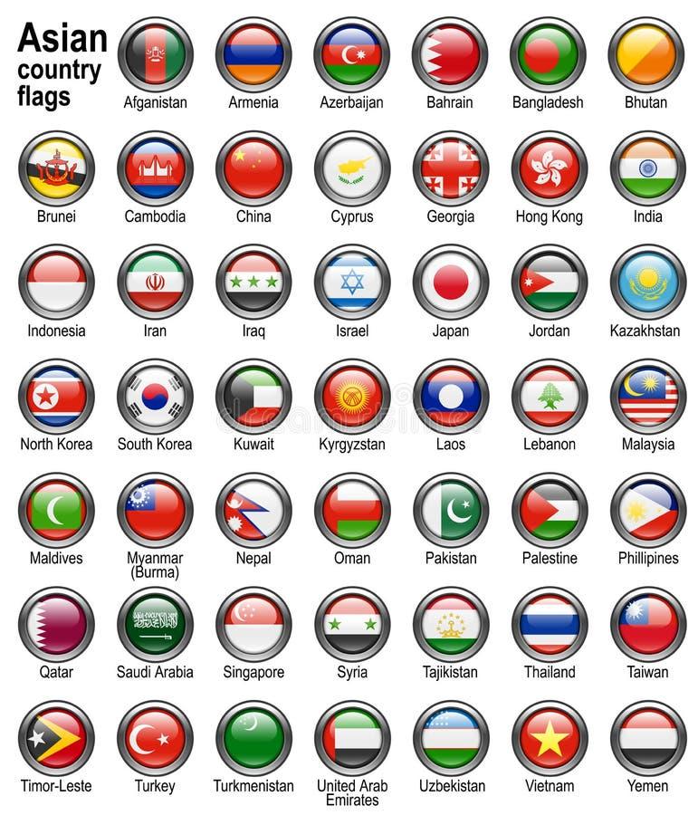 Ιστός σημαιών κουμπιών απεικόνιση αποθεμάτων