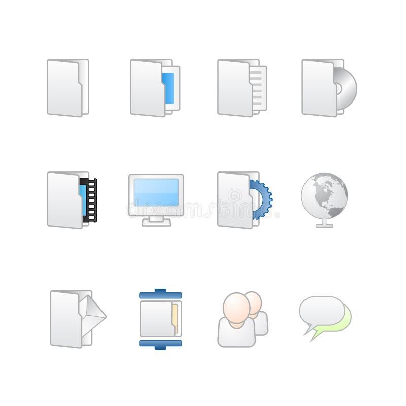 Ιστός της MAC εικονιδίων υπ&omic απεικόνιση αποθεμάτων