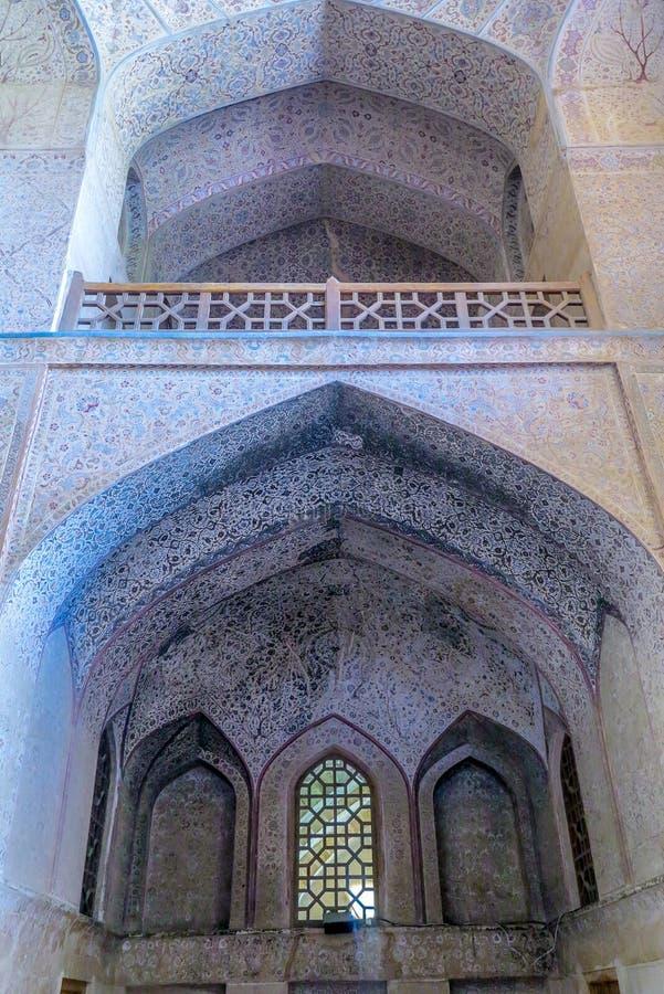 Ισφαχάν Ali Qapu Royal Palace 02 στοκ εικόνες με δικαίωμα ελεύθερης χρήσης