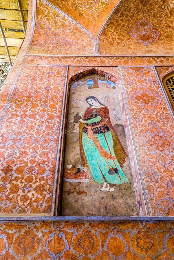 Ισφαχάν Ali Qapu Royal Palace 06 στοκ εικόνα με δικαίωμα ελεύθερης χρήσης