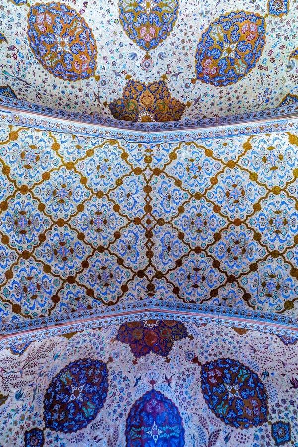 Ισφαχάν Ali Qapu Royal Palace 09 στοκ εικόνες