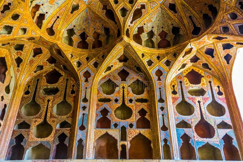 Ισφαχάν Ali Qapu Royal Palace 12 στοκ εικόνες