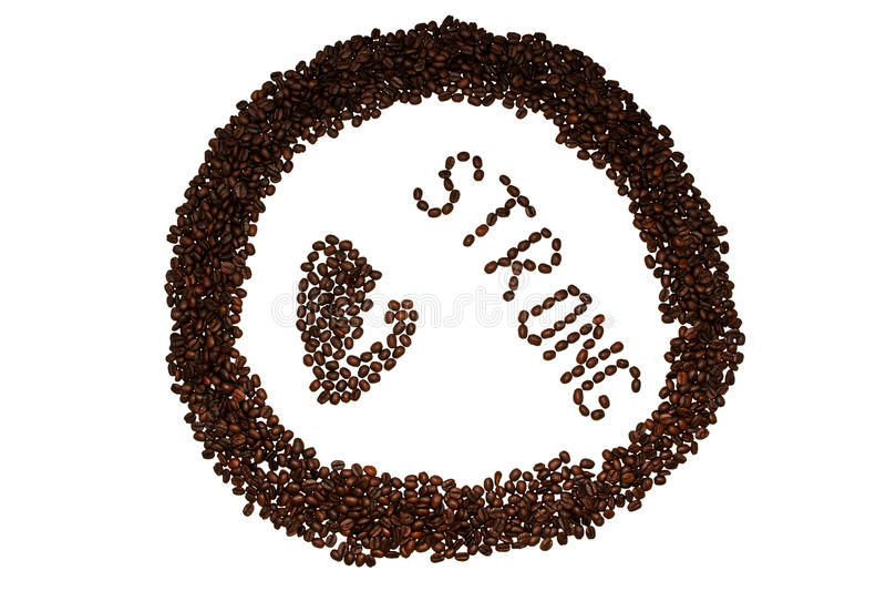 Ισχυρός καφές στοκ εικόνες