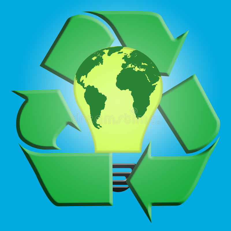 ισχύς ανακύκλωσης ελεύθερη απεικόνιση δικαιώματος