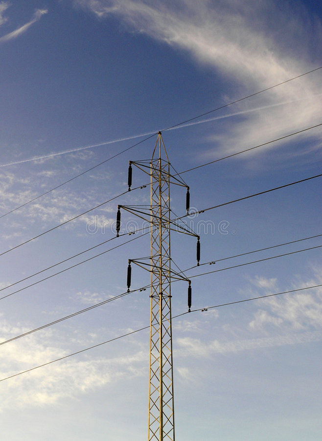 Download ισχύς γραμμών στοκ εικόνα. εικόνα από γραμμή, ενέργεια, ηλεκτρονικός - 55817