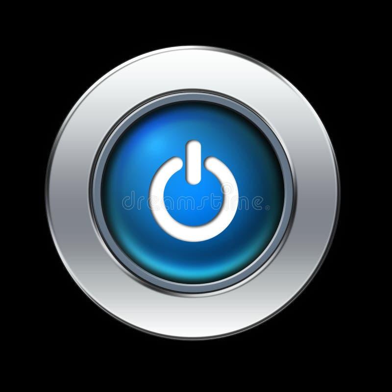 ισχύς κουμπιών διανυσματική απεικόνιση
