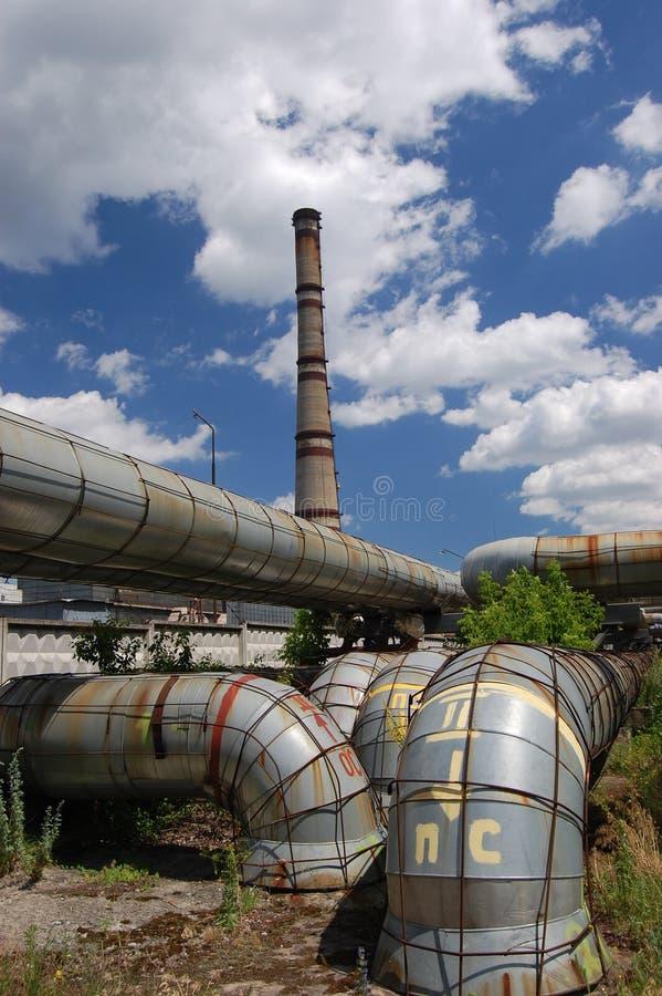ισχύς Ουκρανία φυτών του Κίεβου στοκ φωτογραφίες με δικαίωμα ελεύθερης χρήσης