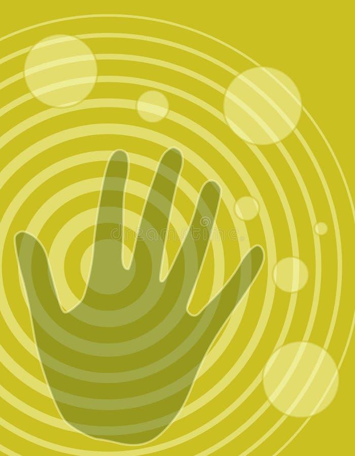 ισχύς υγείας χεριών δημι&omicro ελεύθερη απεικόνιση δικαιώματος