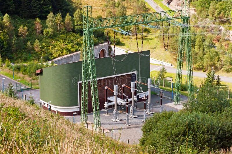 ισχύς υδροηλεκτρικών στ&a στοκ εικόνα με δικαίωμα ελεύθερης χρήσης