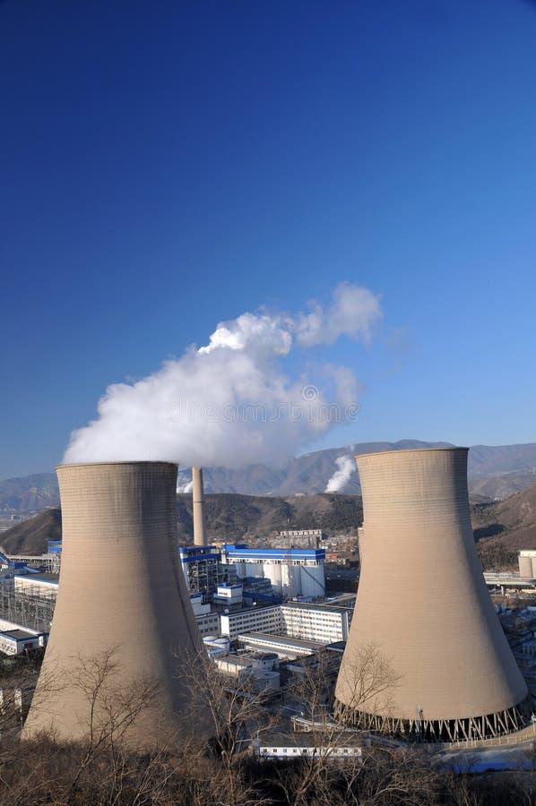 ισχύς φυτών άνθρακα στοκ εικόνα με δικαίωμα ελεύθερης χρήσης