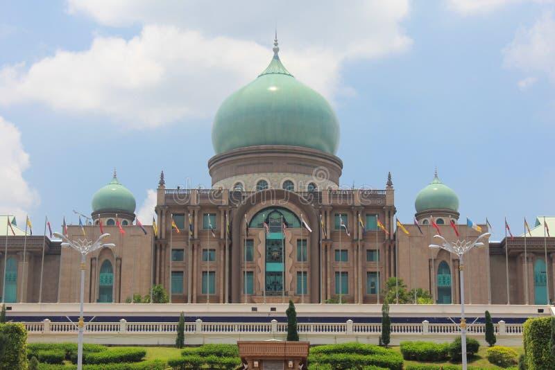 Ισλαμική αρχιτεκτονική, Putrajaya, Μαλαισία στοκ εικόνα με δικαίωμα ελεύθερης χρήσης