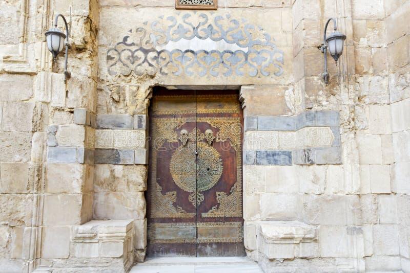 Ισλαμική πόρτα ύφους στοκ εικόνα με δικαίωμα ελεύθερης χρήσης