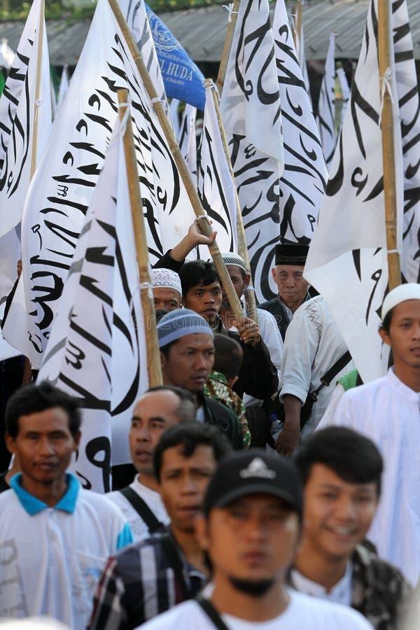 Ισλαμικός ριζοσπάστης στοκ εικόνες