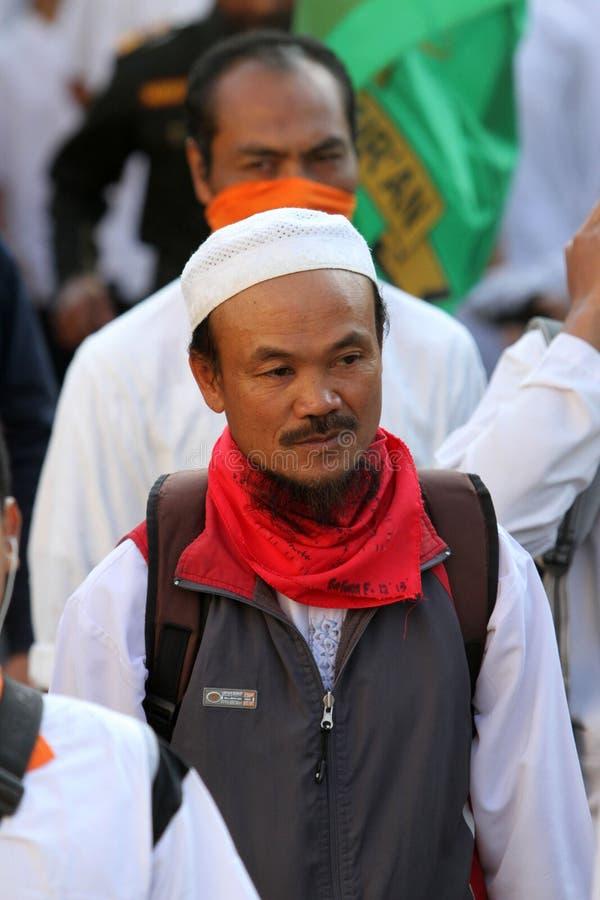 Ισλαμικός ριζοσπάστης στοκ φωτογραφίες με δικαίωμα ελεύθερης χρήσης