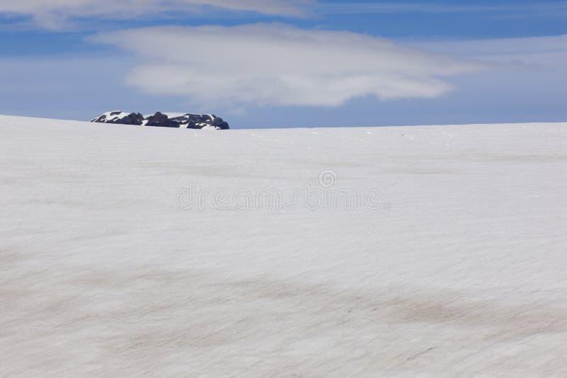 Ισλανδία. Νοτιοανατολική περιοχή. Παγετώνας Skalafelllsjokull. στοκ φωτογραφία με δικαίωμα ελεύθερης χρήσης