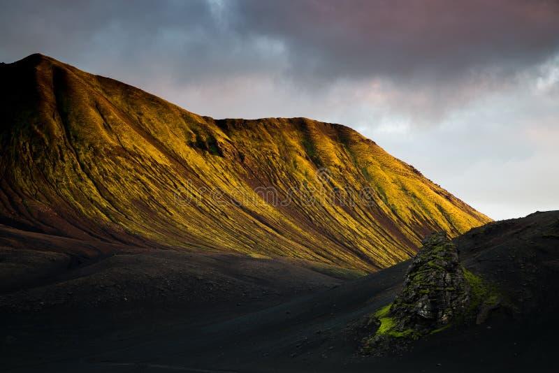 Ισλανδία, ορεινή περιοχή στοκ φωτογραφία με δικαίωμα ελεύθερης χρήσης