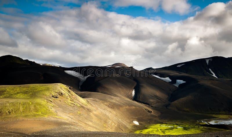 Ισλανδία, ορεινή περιοχή στοκ εικόνα με δικαίωμα ελεύθερης χρήσης