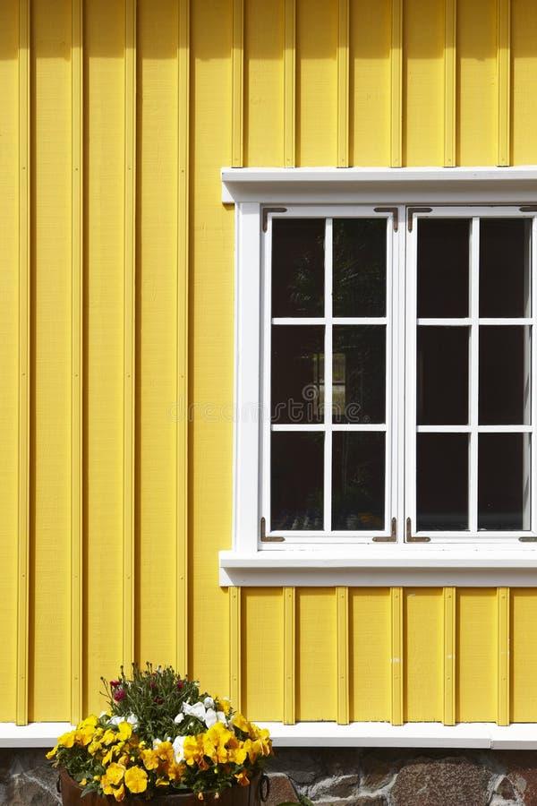 Ισλανδία Siglufjordur Παραδοσιακή islandic ξύλινη πρόσοψη στοκ φωτογραφία με δικαίωμα ελεύθερης χρήσης