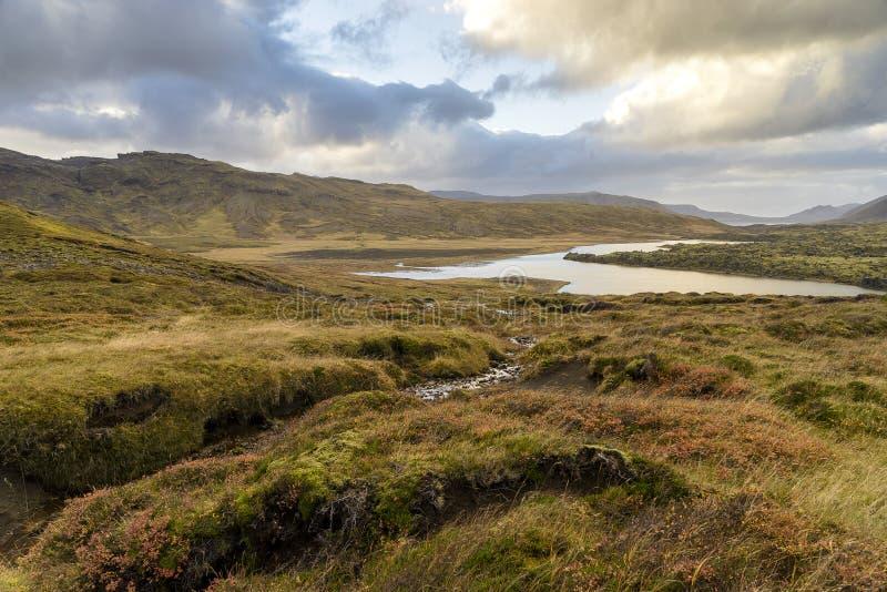ισλανδικό τοπίο στοκ εικόνες
