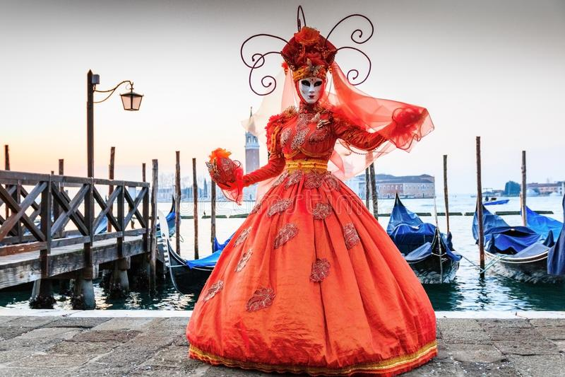 Ιταλία Βενετία καρναβάλι Βενετία στοκ εικόνες