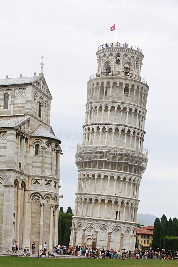 Ιταλία που κλίνει τον πύργ στοκ φωτογραφία με δικαίωμα ελεύθερης χρήσης