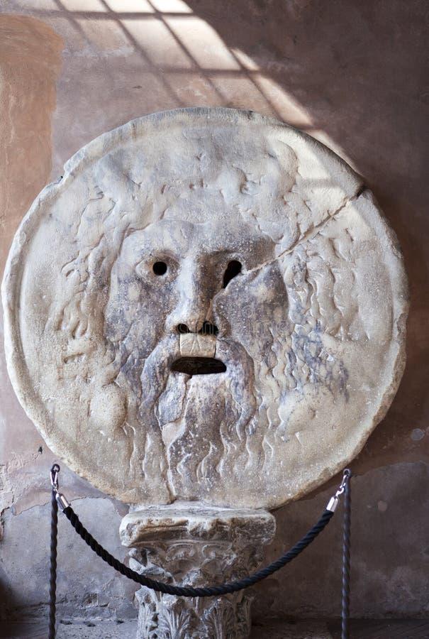 Ιταλία Ρώμη Στόμα της αλήθειας στοκ φωτογραφία με δικαίωμα ελεύθερης χρήσης