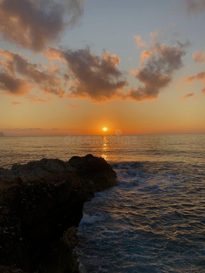 Ιταλία, Σικελία, θάλασσα, μαφία, Μεσόγειος, Terrasini στοκ εικόνες