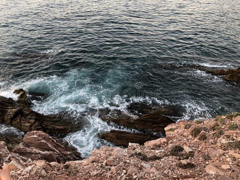 Ιταλία, Σικελία, θάλασσα, μαφία, Μεσόγειος, Terrasini στοκ φωτογραφία
