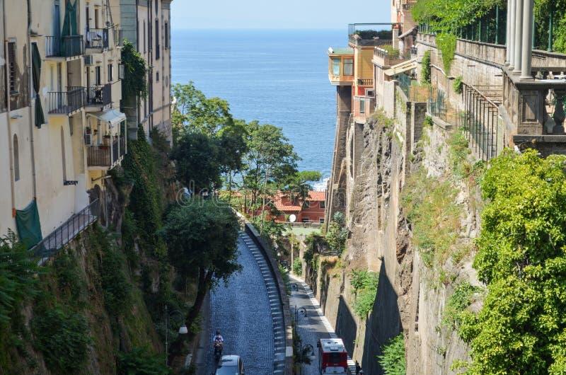 Ιταλία Σορέντο στοκ φωτογραφία