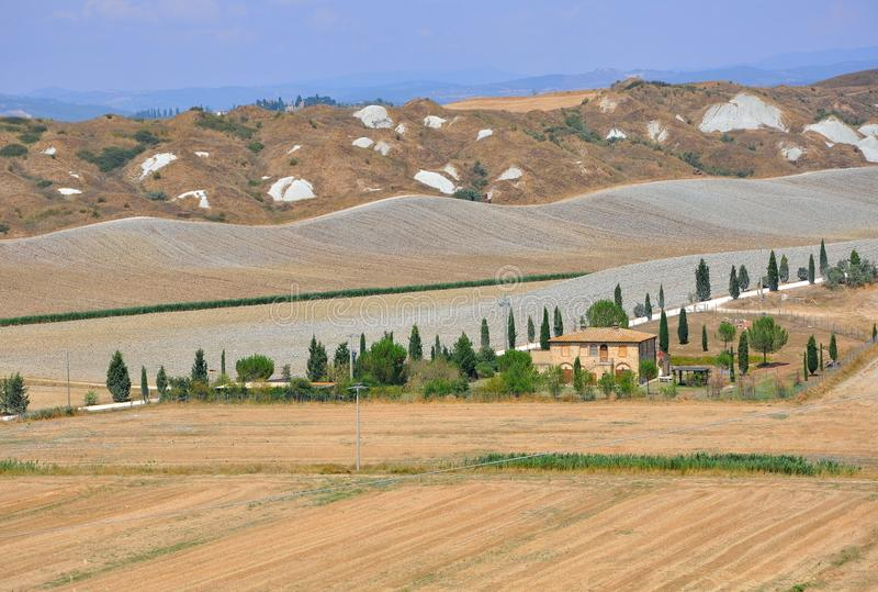 Ιταλία Τοσκάνη στοκ εικόνα με δικαίωμα ελεύθερης χρήσης