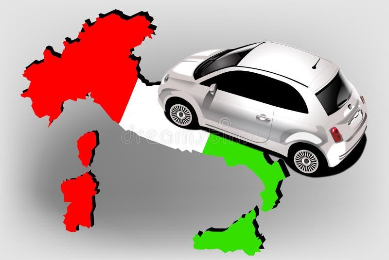 Ιταλία διανυσματική απεικόνιση