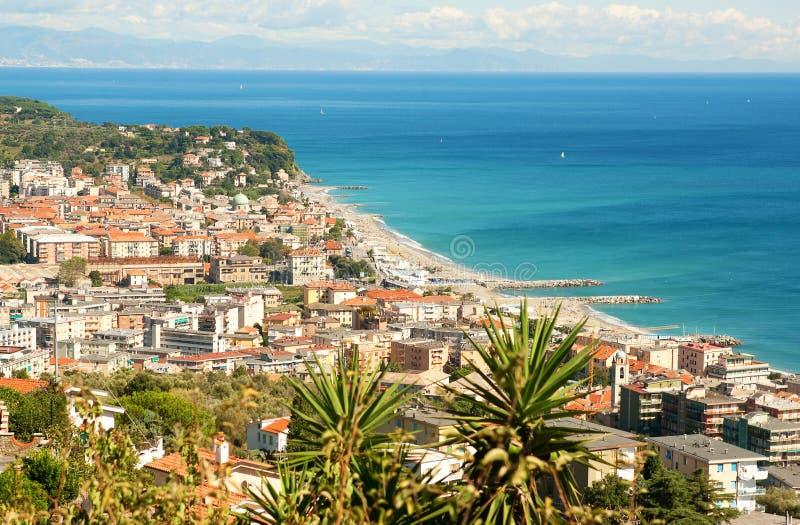 Ιταλία varazze στοκ φωτογραφία με δικαίωμα ελεύθερης χρήσης