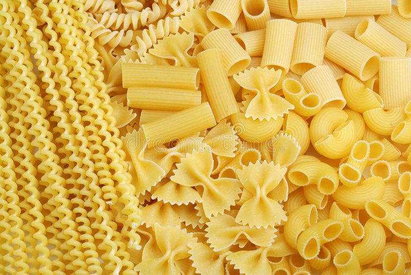 ιταλικά ζυμαρικά ανασκόπη& στοκ εικόνα