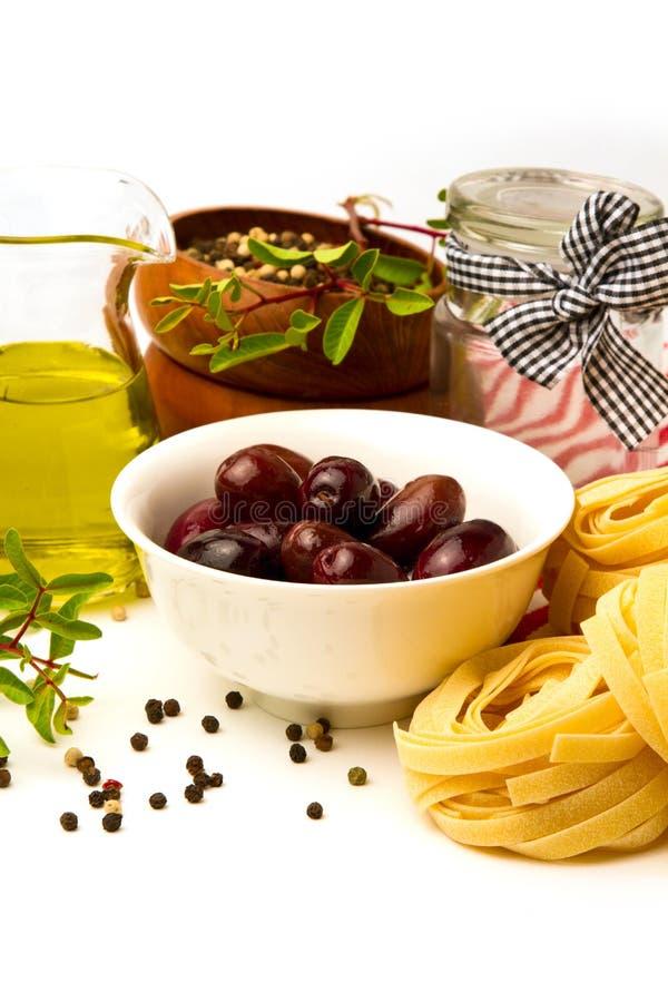 Ιταλικά ζυμαρικά με τα λαχανικά στοκ φωτογραφίες με δικαίωμα ελεύθερης χρήσης
