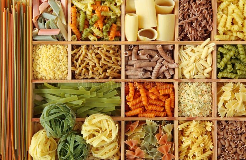 ιταλικά ζυμαρικά συλλο&g στοκ φωτογραφίες