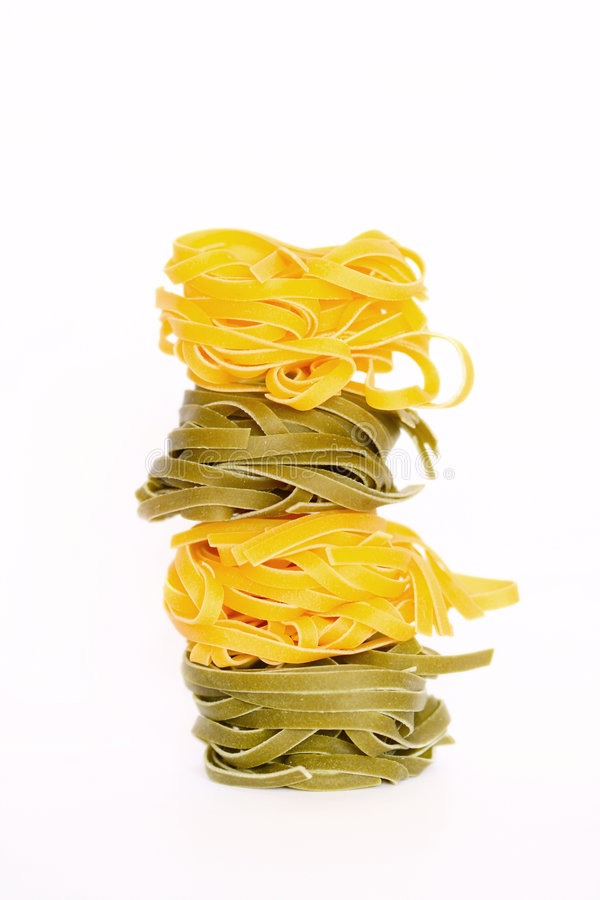 ιταλικά ζυμαρικά tagliatelle στοκ εικόνες με δικαίωμα ελεύθερης χρήσης