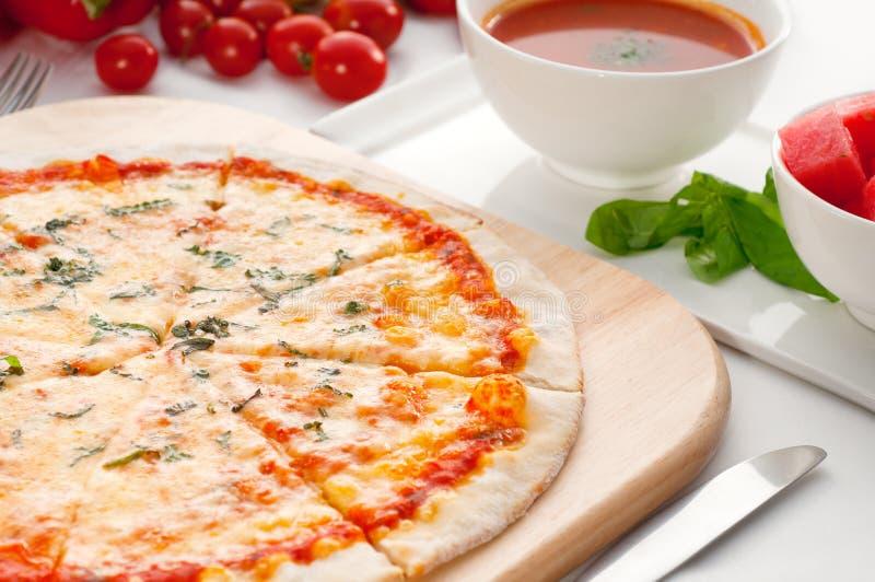 ιταλική αρχική πίτσα κρου&s στοκ φωτογραφία