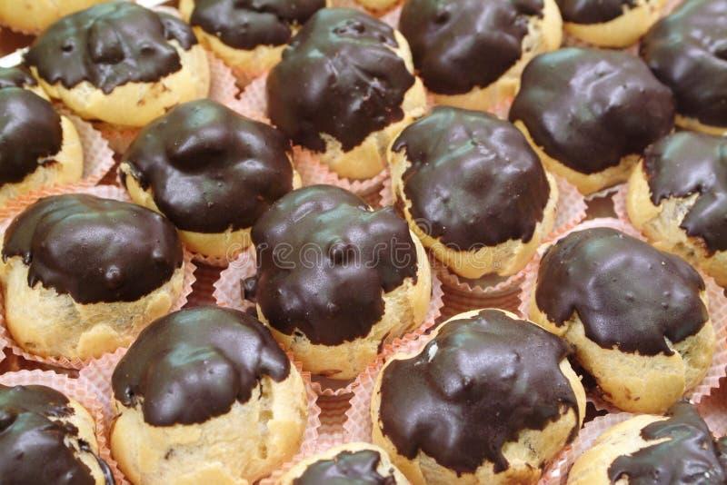 ιταλική ζύμη σοκολάτας 2 bign στοκ εικόνες