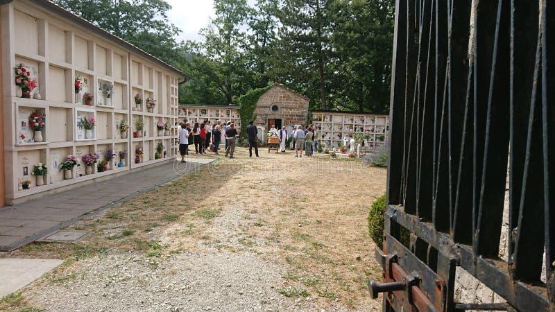 Ιταλική κηδεία στοκ εικόνες