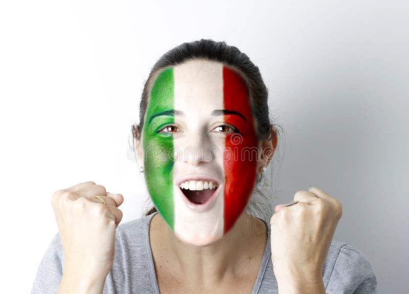 ιταλική κραυγή στόχου αν&eps στοκ φωτογραφίες