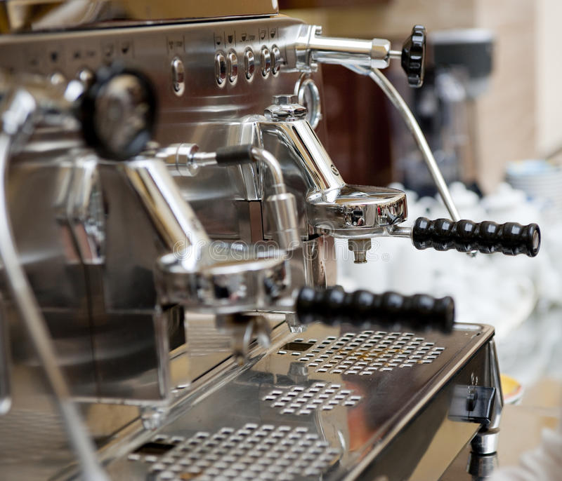 ιταλική μηχανή espresso στοκ φωτογραφία με δικαίωμα ελεύθερης χρήσης