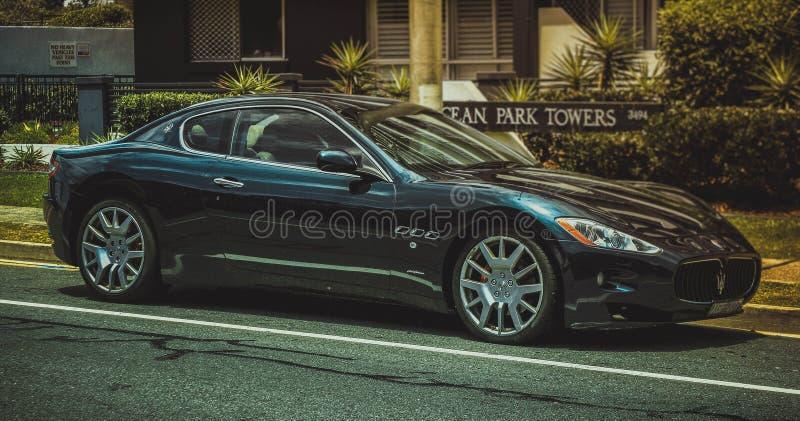 Ιταλική ομορφιά ` επεξεργασθε'ν Maserati ` στοκ εικόνα με δικαίωμα ελεύθερης χρήσης