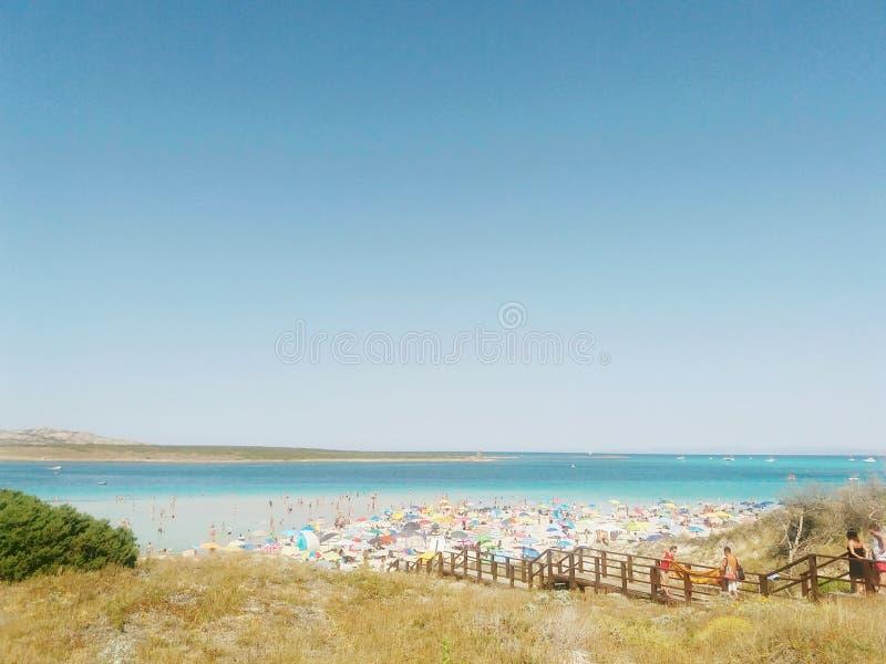 Ιταλική παραλία στοκ εικόνα με δικαίωμα ελεύθερης χρήσης