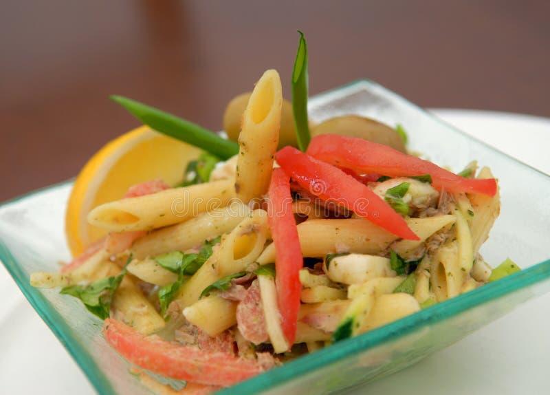 ιταλική macaroni σαλάτα στοκ εικόνα