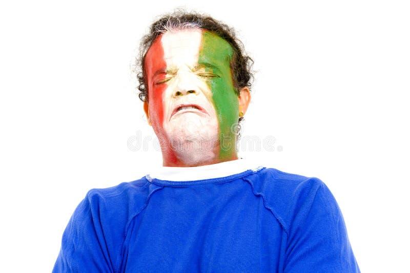 ιταλικός λυπημένος στοκ εικόνα